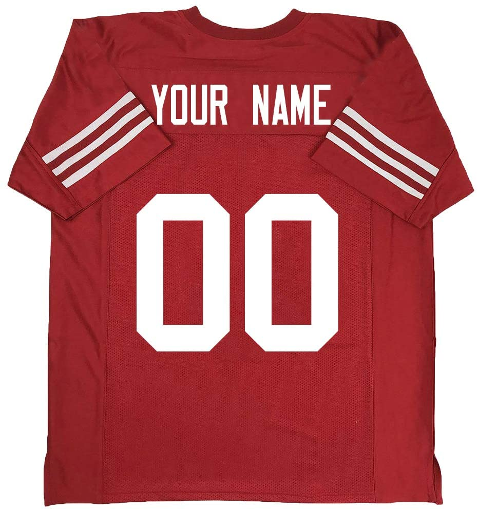 BLN Football Jersey Custom 32 Team Design Your Own Personalize Birthday Gifts Customizable Any Name & Number S-6XL Stitched Jerseys for Men Women Kids
