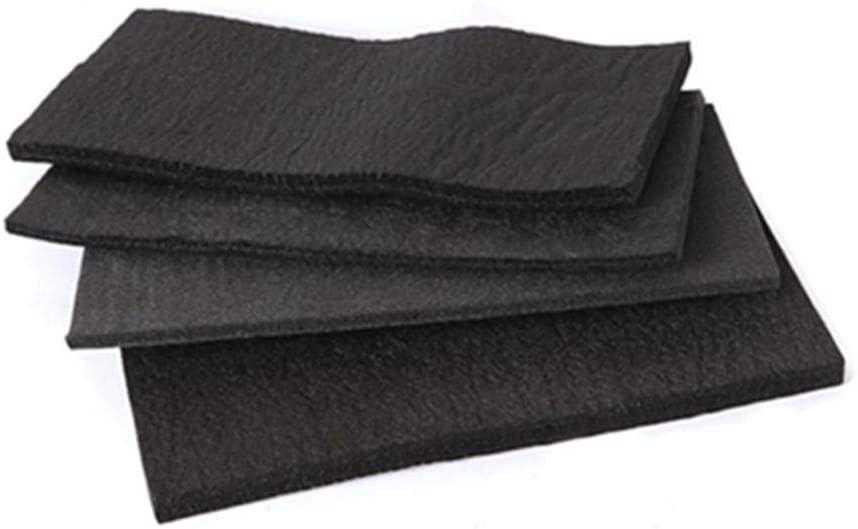 SOFIALXC Carbon Graphite Felt High Temp Welding Protective Blanket-Thick 3mmx100x100mm