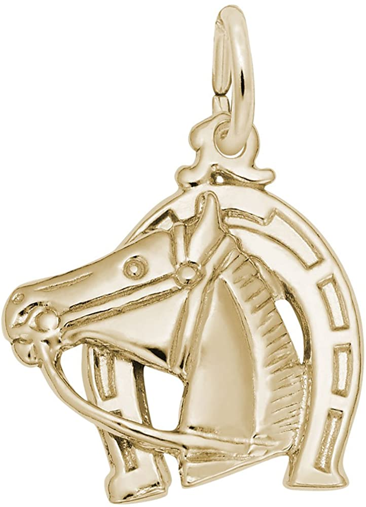 Horse Charm, Charms for Bracelets and Necklaces