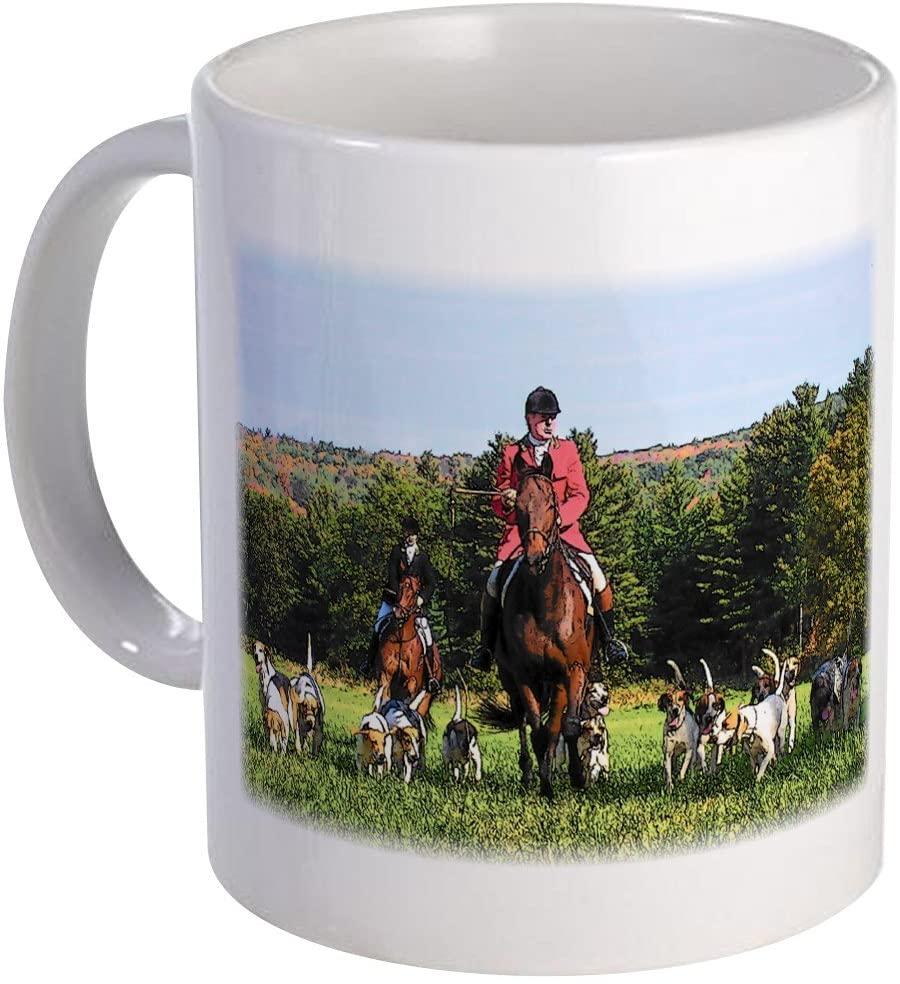 CafePress Fox Hunt Mug Unique Coffee Mug, Coffee Cup