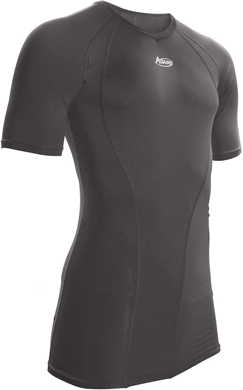Adams Baseball and Softball Umpire Short Sleeve Compression Shirt Poly/Spandex