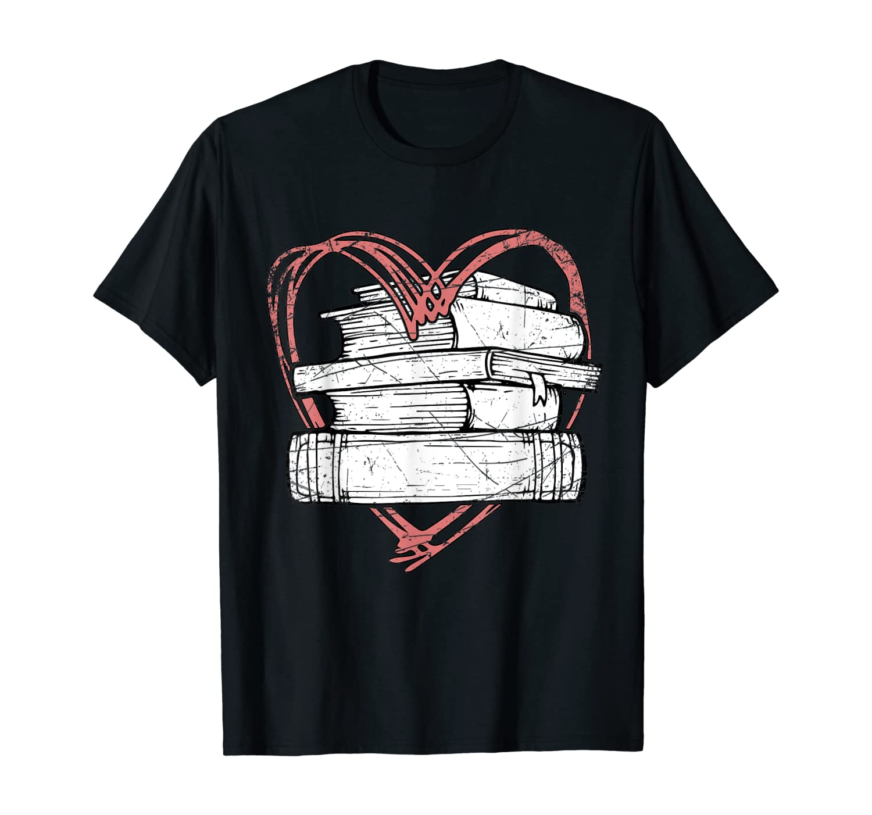 Love Books Reading T-Shirt
