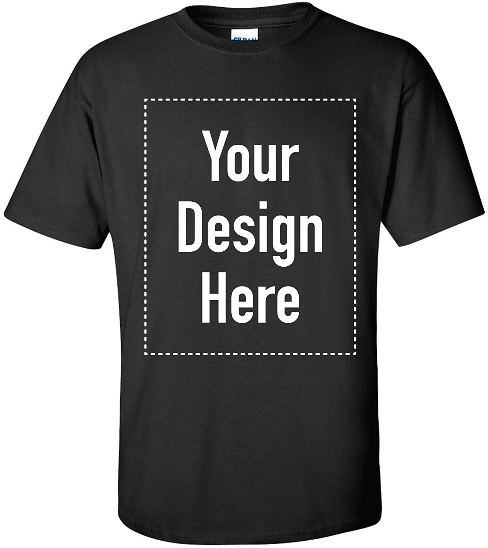100% Cotton, Full Color, Gildan Tee - Custom T-Shirt