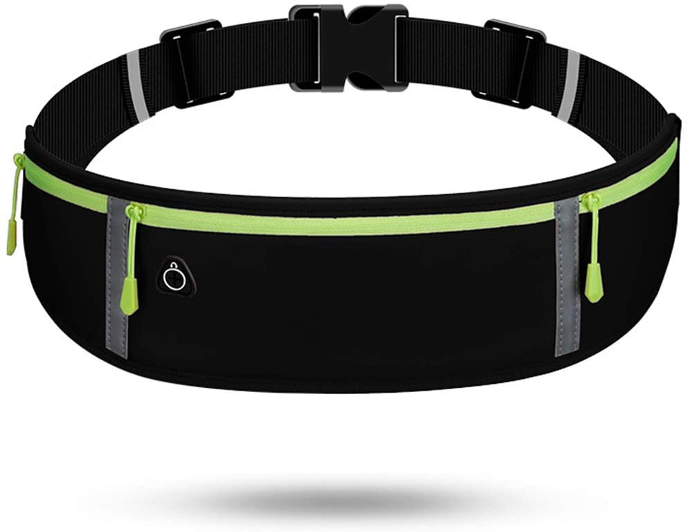 CAMSTIC Water Resistant Bounce Free Running Sports Waist Pack|Compatible for All Phones|Belt Size: 26-36