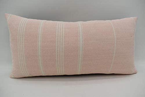 Generic - 12x24 Pillow Covers, Decorative Pillow, Lumbar Pillow, Striped Pillow, Sleeping Pillow, Throw Pillow, Pink Pil