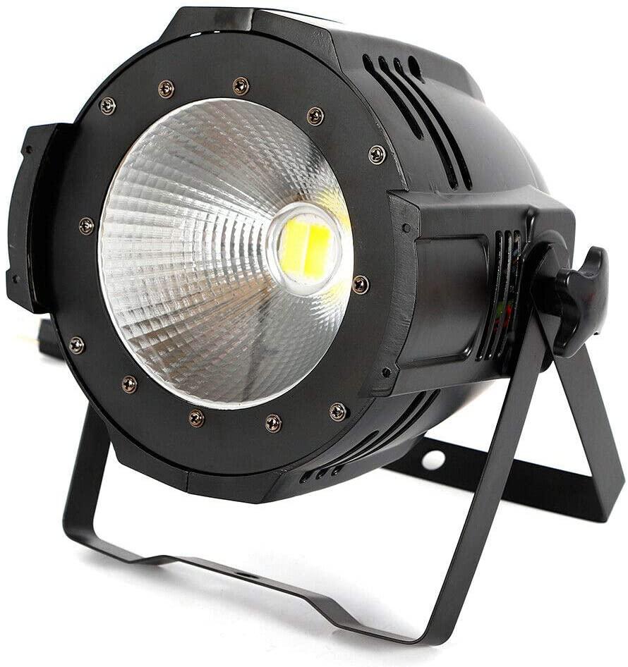 LYNICESHOP 100W COB DJ Wash Par Lights Super Bright LED Stage Lighting, The Most Professional Kits