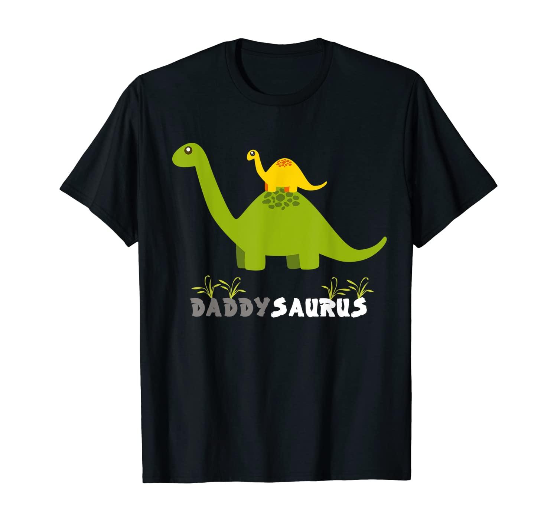 Daddysaurus Shirt Funny Father Dinosaur T-Shirt