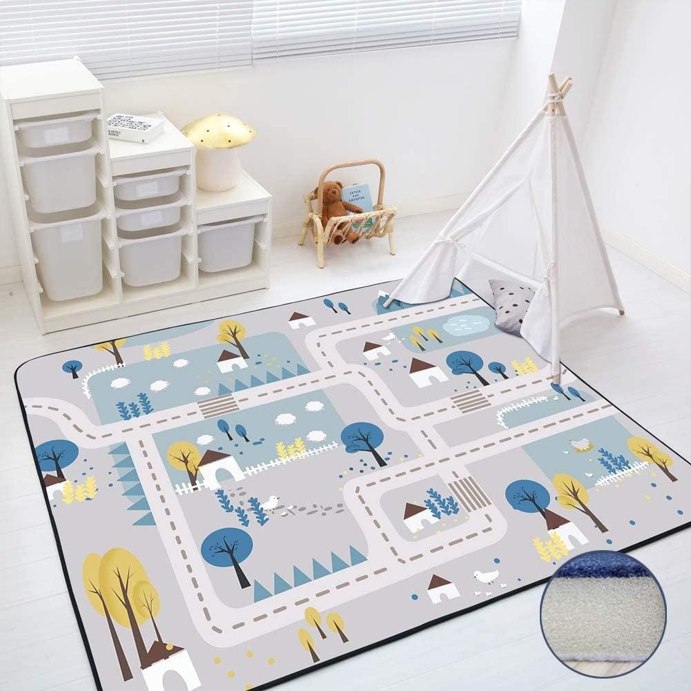 Loartee Kids Carpet Playmat Rug - 59