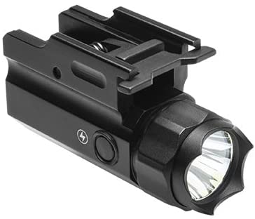 M1SURPLUS Tactical Quick Detach LED Pistol Light Flashlight w/Strobing Function - Fits Ruger Security-9 American Full Size Pistols