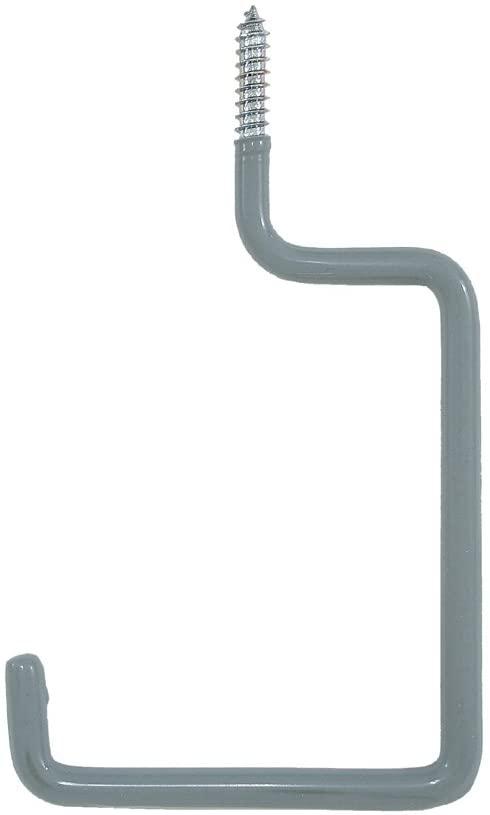 Lehigh SS17 Screw-In Utility Hook, Grey, Pack of 2