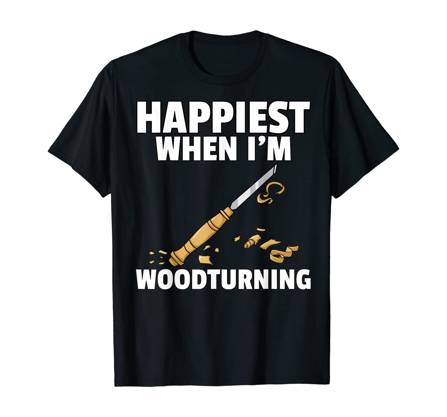 Woodturning Turning Gift For Carpenter Or Woodworker T-Shirt