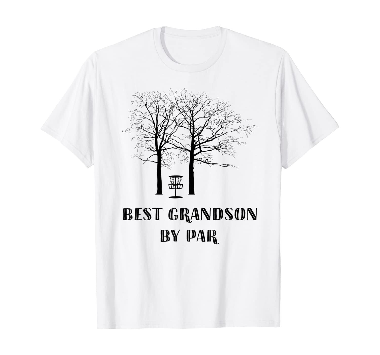 Disc Golf Grandson - Best Grandson By Par T-Shirt