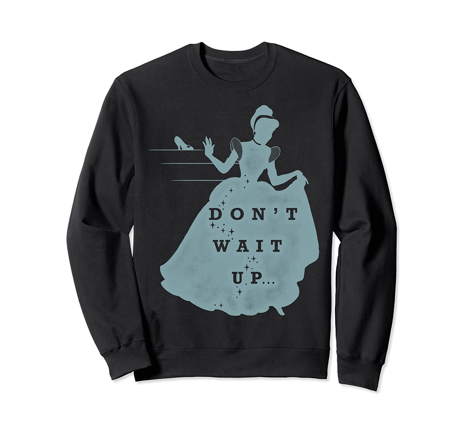 Disney Cinderella Don't Wait Up Graphic Sweatshirt