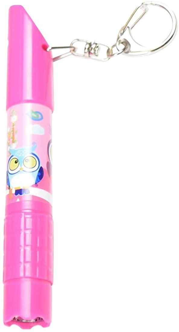 Multi Functional Whistle Light Pen Key Chain