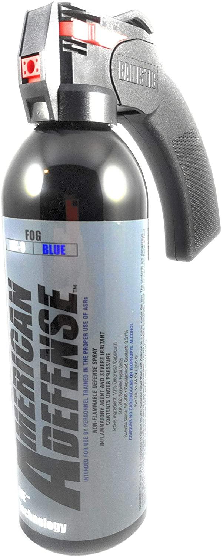 Pepper Spray MK-9 American Defense - Blue Formula - (10% OC, 500,000 SHU) Pistol Grip Targeted Cone Spray 11.64 oz/330 gr