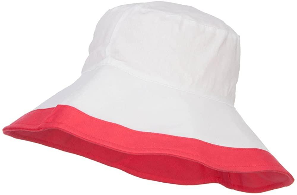 Reversible Solid Color Bucket Hat