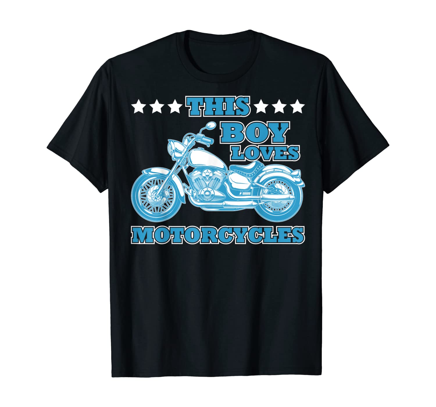 This Boy loves Racer motorcycle T-Shirt
