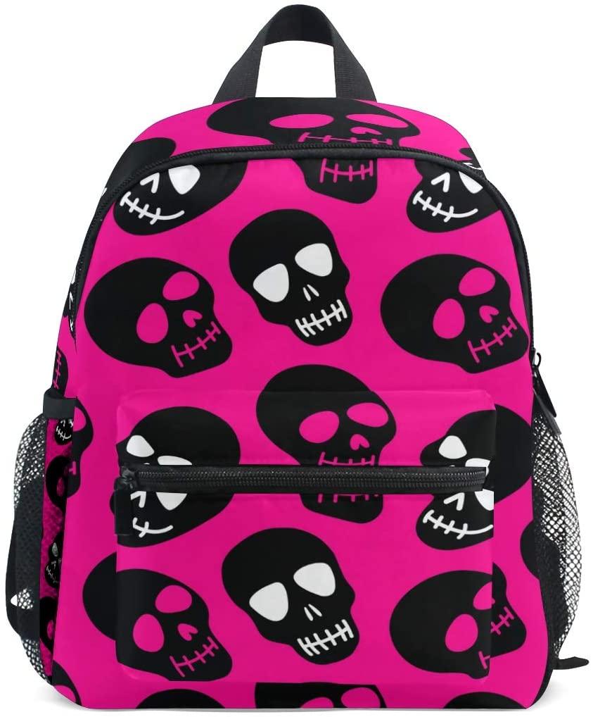 Upgraded Backpack for School Girls Boys Backpack Sugar Skull Small Travel Backpack(906h1)