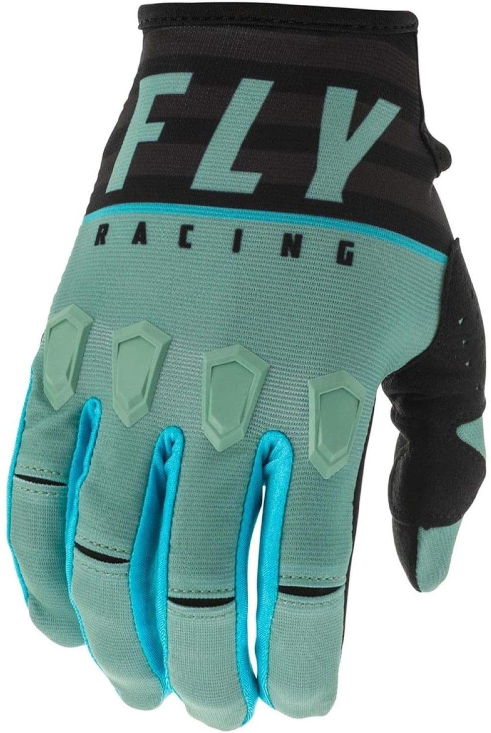 Fly Racing 2020 Youth Kinetic Gloves - K120 (Small) (SAGE Green/Black)