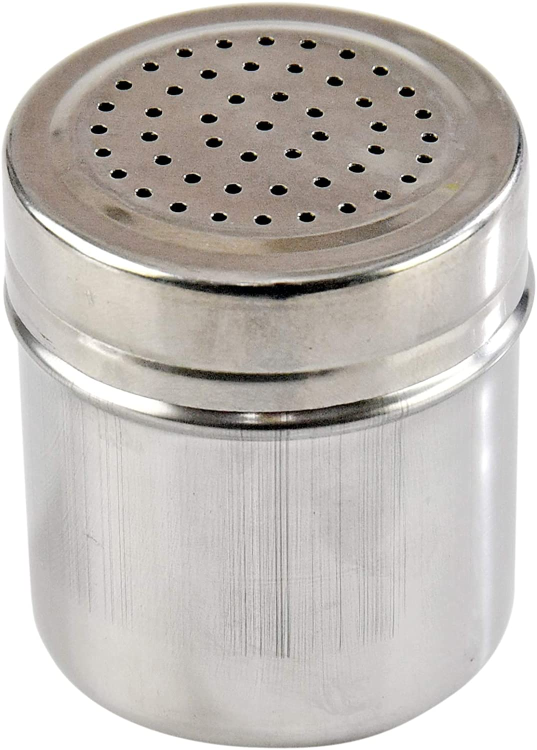 HOME-X Spice Shaker, Kitchen Utensil for Spices, Seasoning, Sugar, and More-Stainless Steel-5 oz.