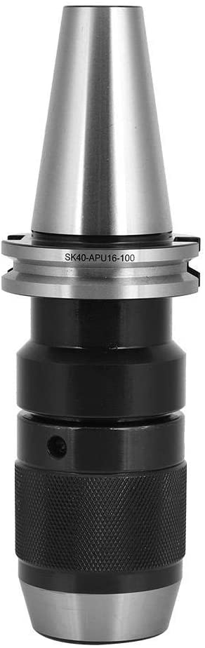 SK40-APU16-100 Tool Holder High-Speed Steel Cutter Handle Accuracy Lathe Accessory Germany Standard