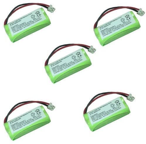 AT&T-Lucent BT8001 Cordless Phone Combo-Pack Includes: 5 x EM-CPH-515D Batteries