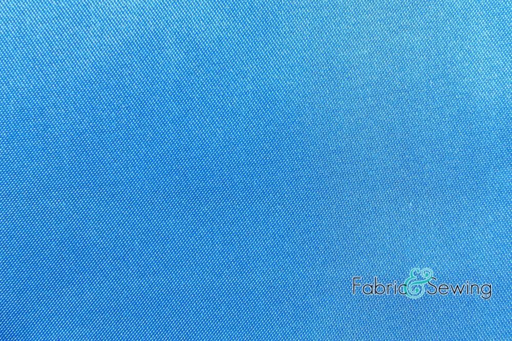 Aqua Blue Shiny Bridal Satin Fabric Polyester 5.5 Oz 58-60