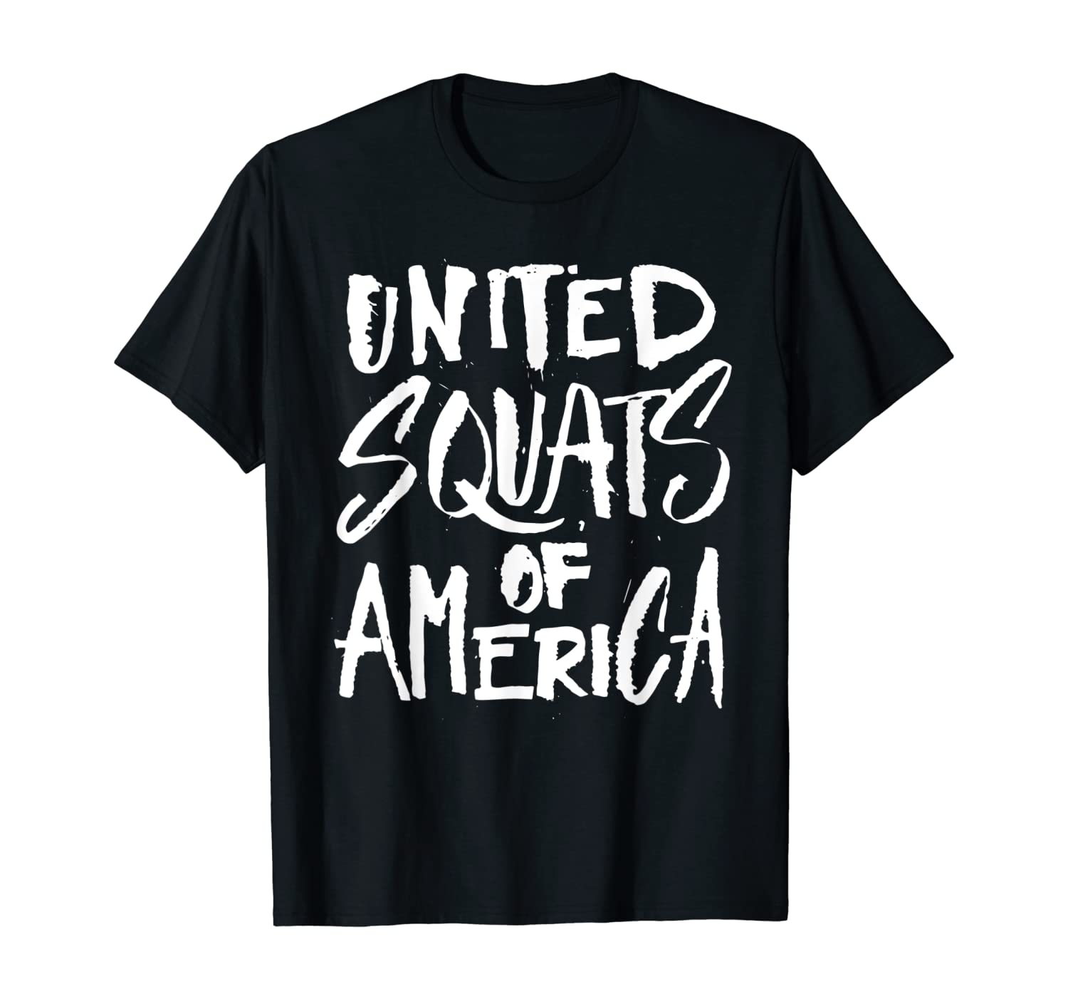 United Squats of America - Funny Workout Gym Fitness T-Shirt