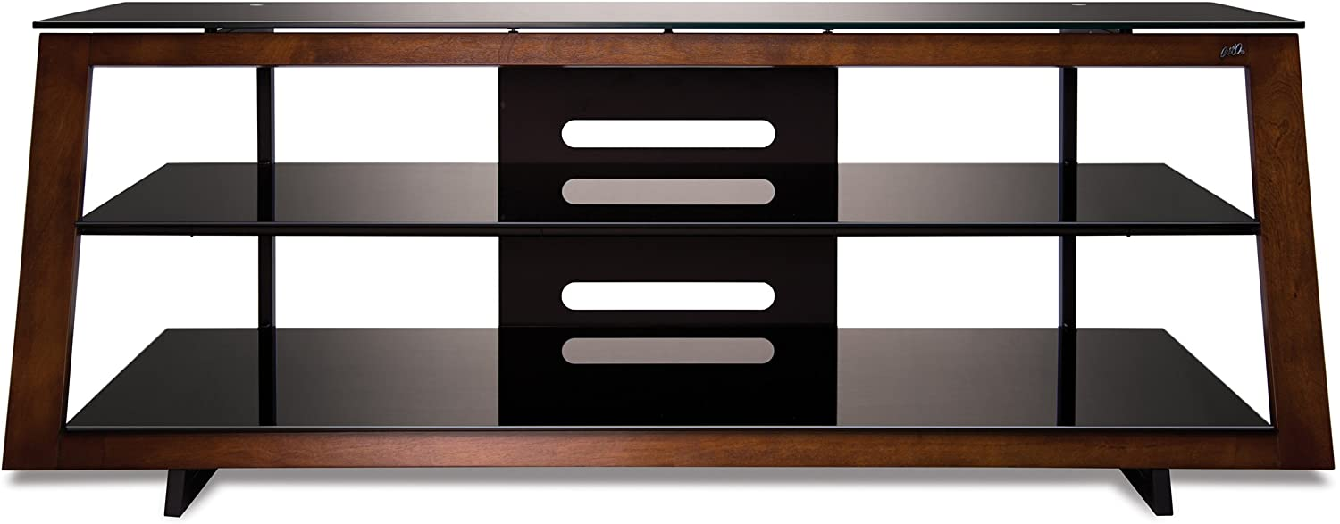 BellO AVSC4260 60 TV Stand for TVs up to 65, Medium Espresso