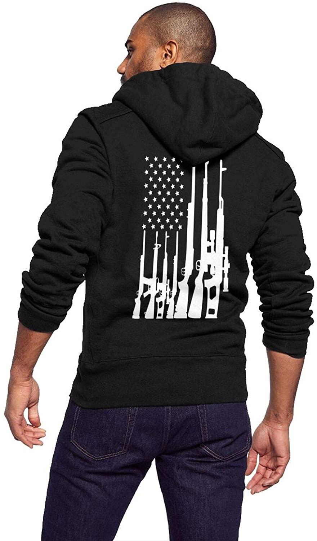 URTEOM Men's Hoodies Full Zip Sherpa Lined Lightweight Fleece Warm Sweatshirts Big Tall