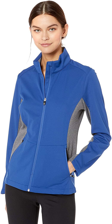 Cutter & Buck Womens Long Sleeve Full Zip Lightweight Navigate Softshell Jacket