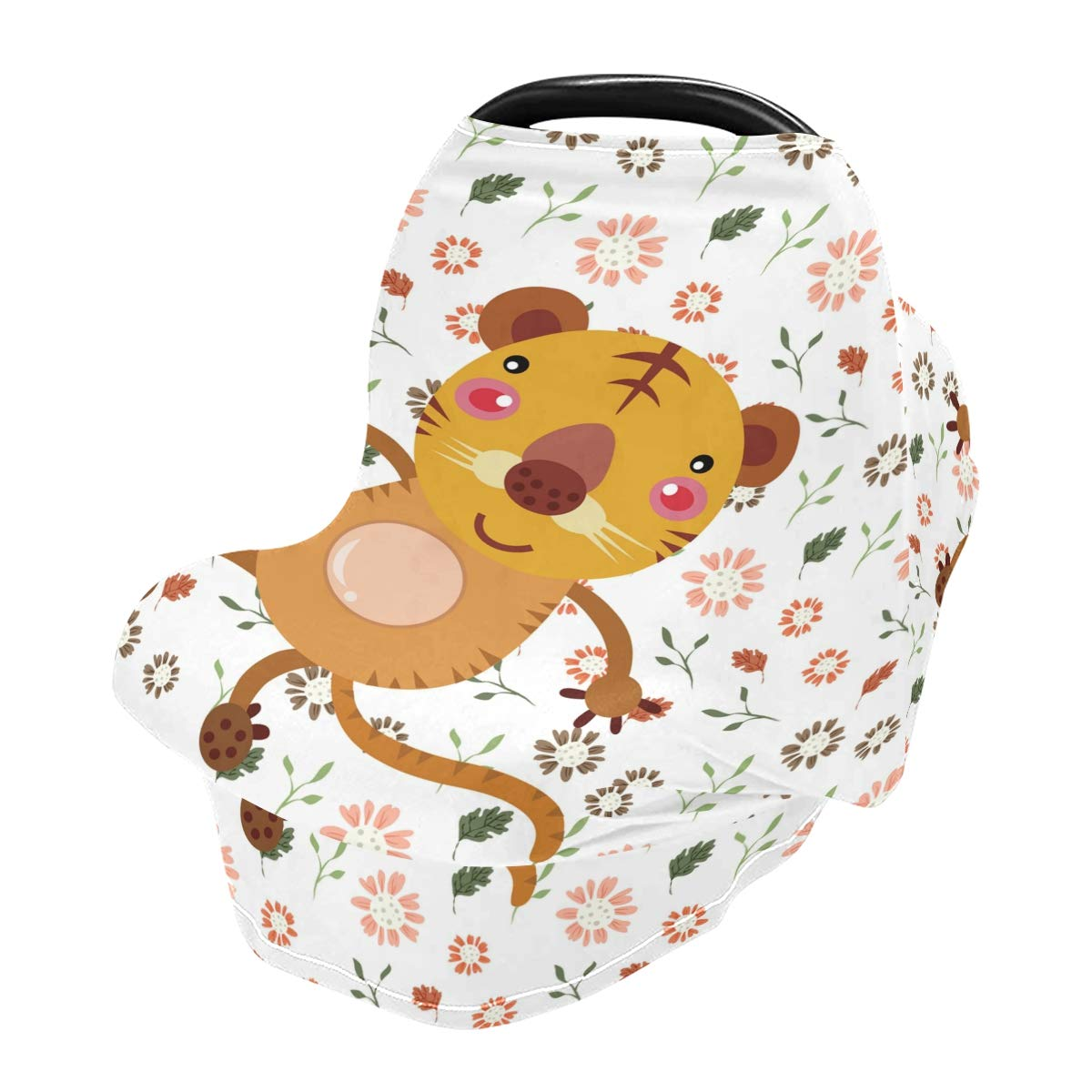 Nursing Cover Cute Mouse Breastfeeding Soft Carseat Canopy Multi Use for Baby Car Seat Covers Canopy Shopping Cart Cover Scarf Light Blanket Stroller Cover