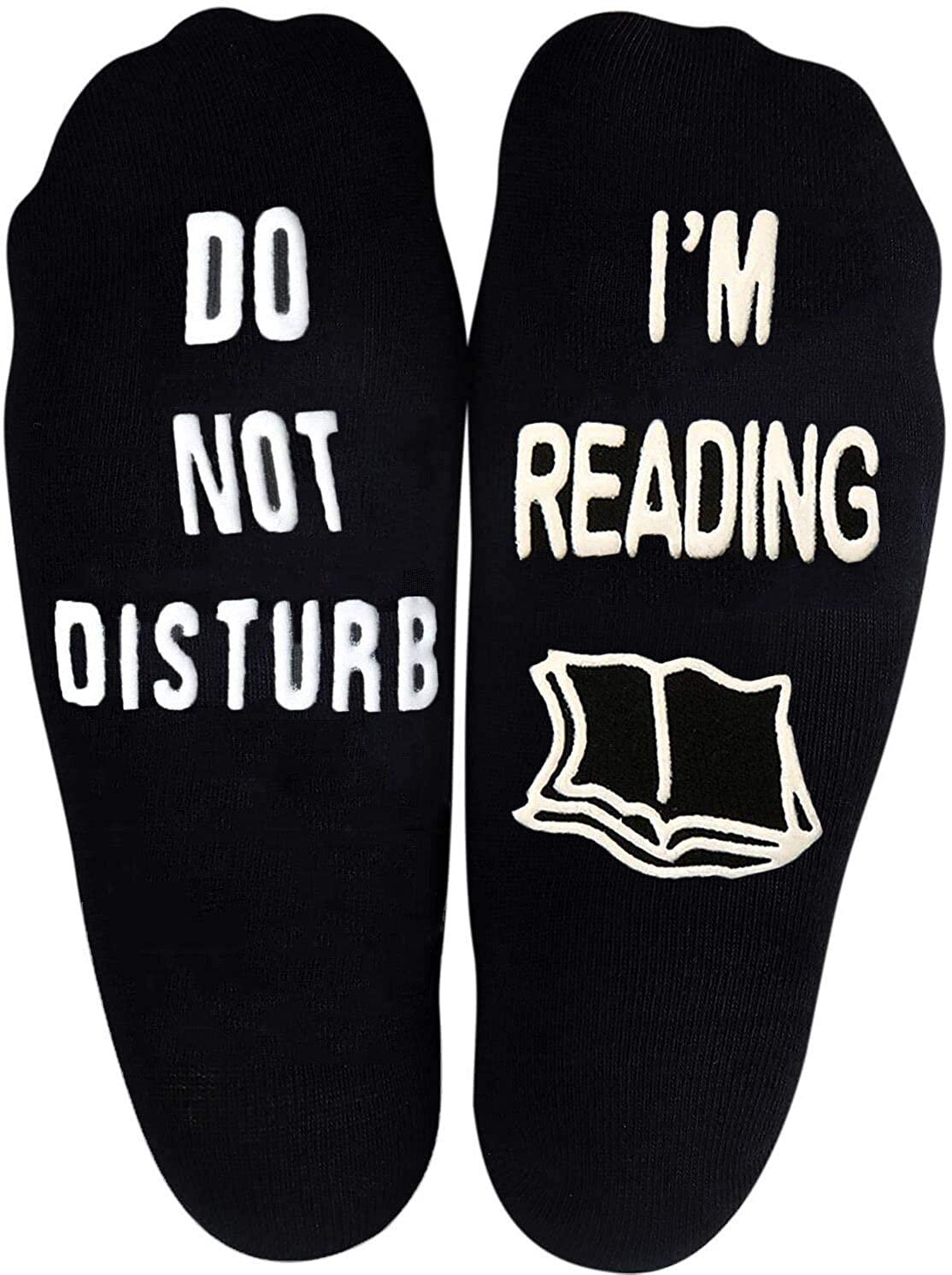 Unisex Cotton Socks Do Not Disturb Im Gaming Socks, Gamer Socks Funny Novelty Socks Great Christmas for Men Women
