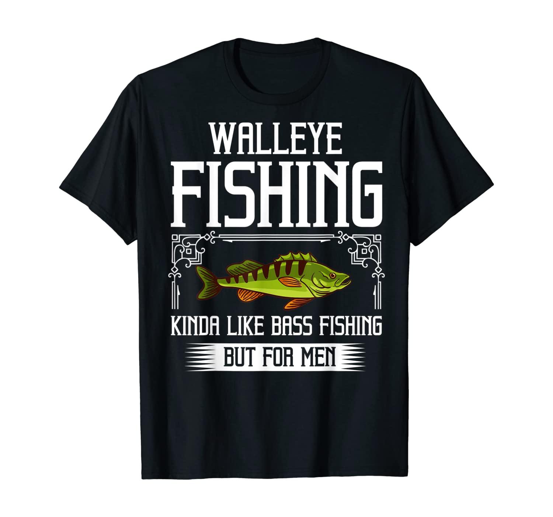 Walleye Lure Fishing Gift Walleye Fish T-Shirt