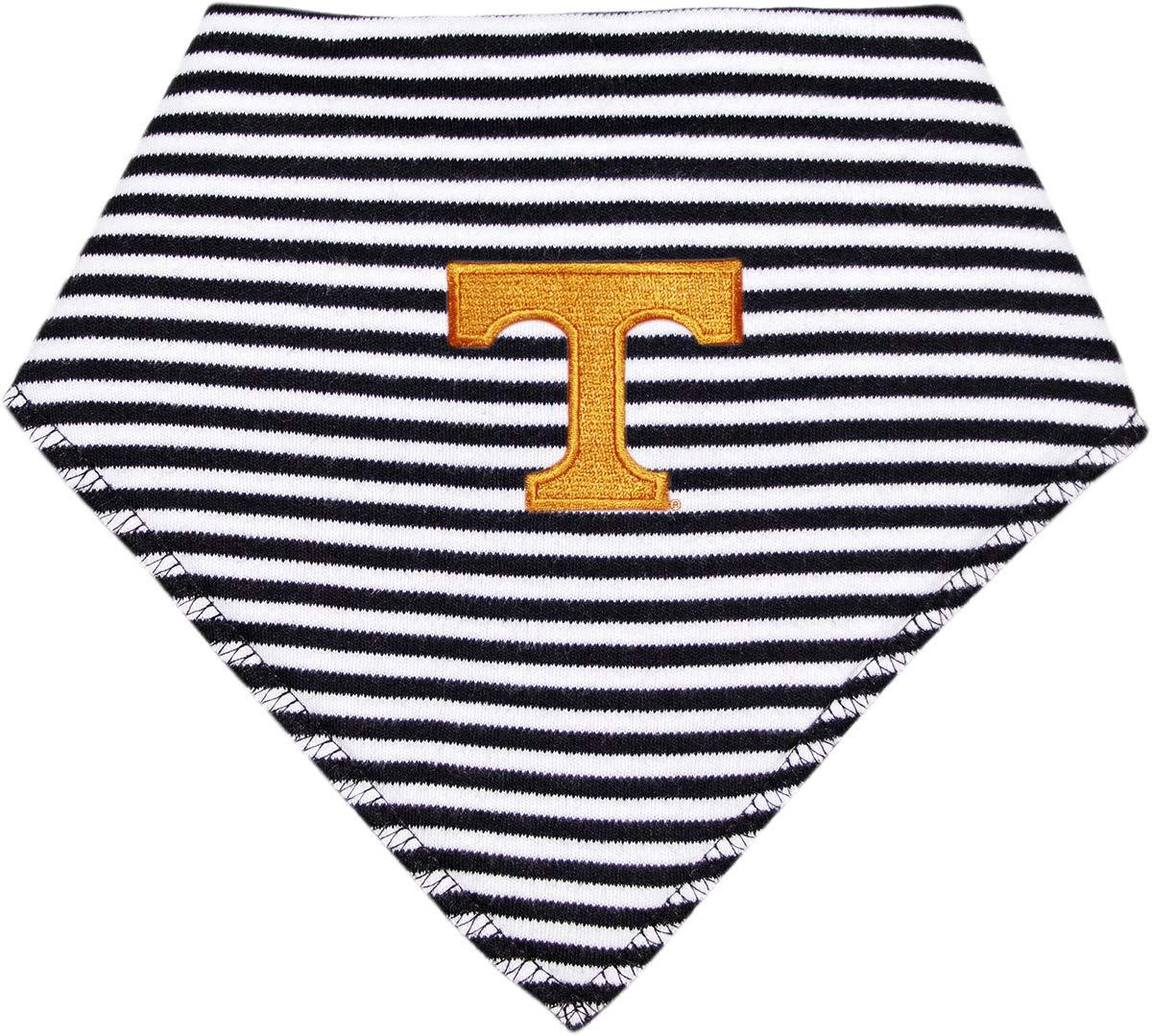 University of Tennessee Striped Baby Bandana Bib