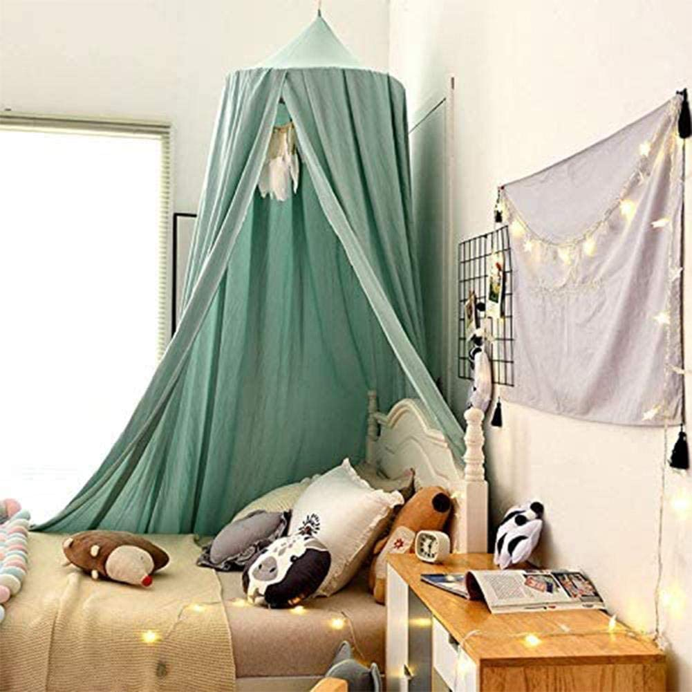 RedSuns Bed Canopy Kids Canopy for Girls Bed Mosquito Net Unique Pendant Play Tent Bedding Baby Crib Nook Castle Game Tent Nursery Play Room Decor