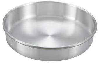 Winco ACP-123 Layer Cake Pan, 12 X 3-In, Aluminum - Round Cake Pans-ACP-123
