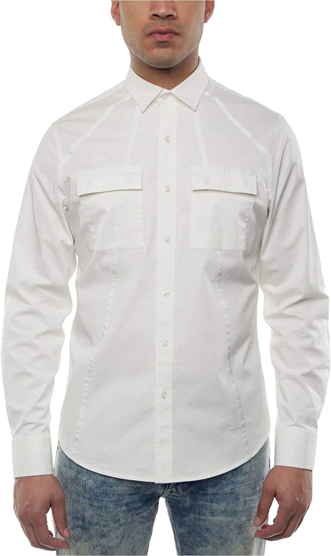 Sean John Mens Ls Button Up Shirt