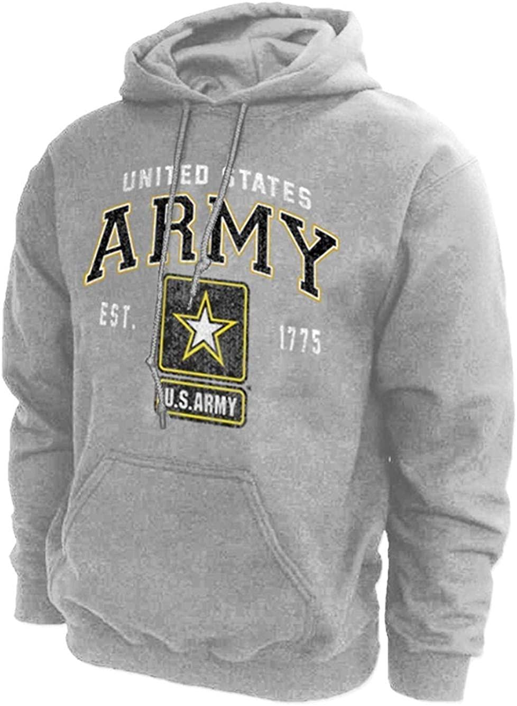 U.S. Army Hoodie Sweatshirt Vintage Logo
