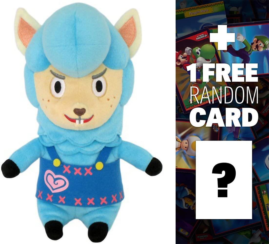 Animal Crossing Cyrus: ~8 Mini-Plush + 1 Free Official Nintendo Fun Card Bundle