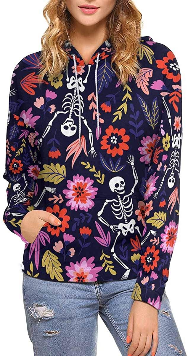 InterestPrint Custom Stylish Graphic Design Women's Pullover Hoodies Sweatshirt