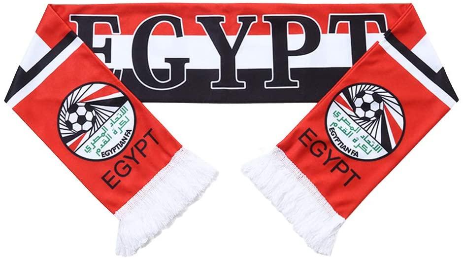 QTKJ Egypt 2018 World Cup Fans Scarf National Team Scarf Flag Banner Football Cheerleaders Scarves
