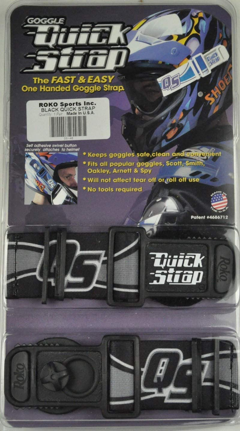 Roko Goggle Quick Strap Black Spy Thor Scott Smith