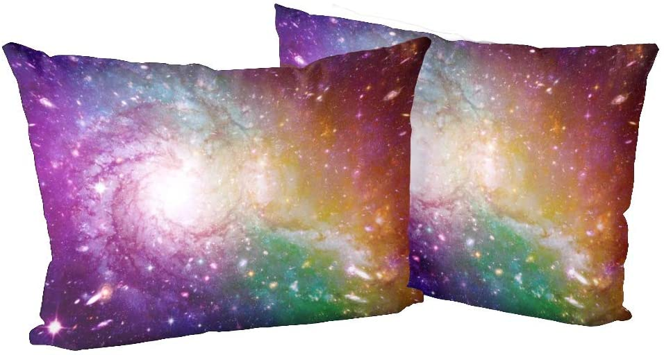 XIUCOO Pillow Case Pillowcase Rectangle Zippered Pillow Cases Protector Cover Standard Size 20x 30 inchStars of a Planet