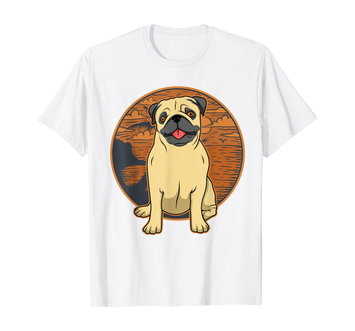 Pug Shirt Gift for Woman & Men T-Shirt