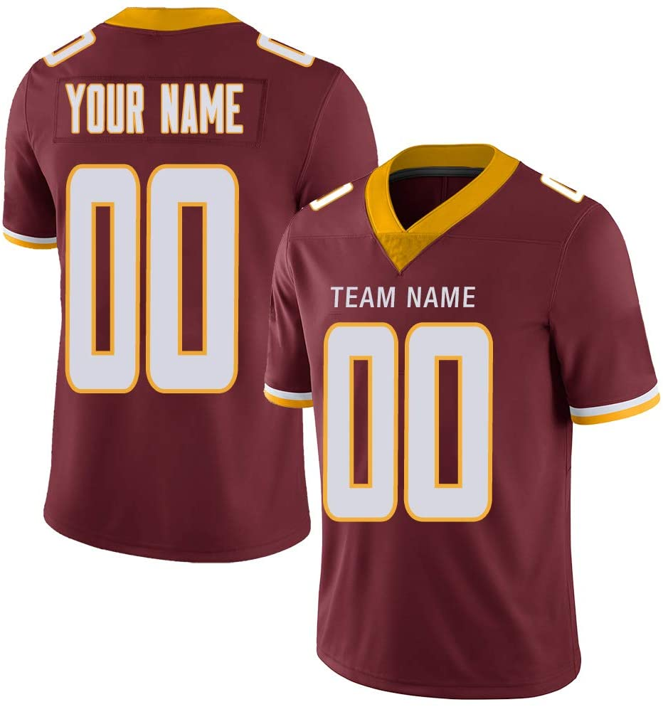Football Jersey Custom for Men Women Youth Kids Stitched Any Fans Name Number 32 Team S-7XL