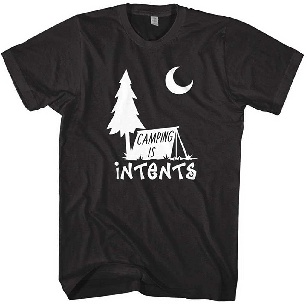 Mixtbrand Men's Camping is Intents T-Shirt