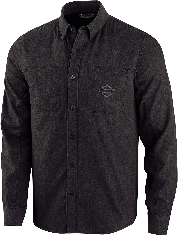 Harley-Davidson Men's Performance Melange Long Sleeve Shirt