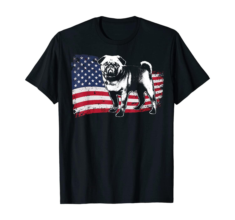 Pug T-Shirt Fun Dog Shirt for Women, Men T-Shirt