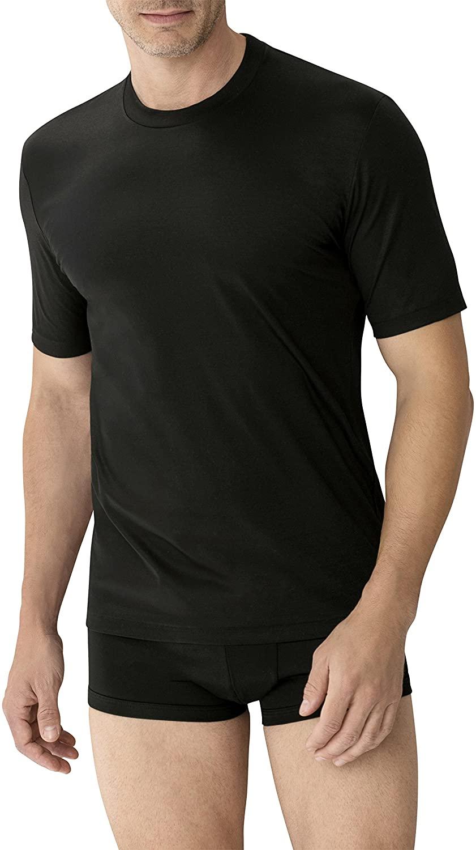 zimmerli New Sea Island Crew Tee Shirt XXL Black